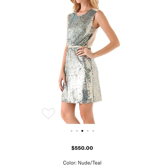 ERIN by Erin Fetherston Sequin Cocktail Dress 4